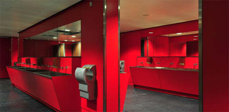 cubicle and washroom systems